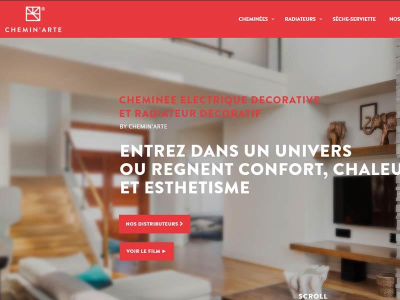 Cheminée Electrique Chemin'arte : Design et Confort !
