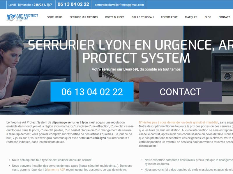 Remplacement serrure lyon – Art' Protect System
