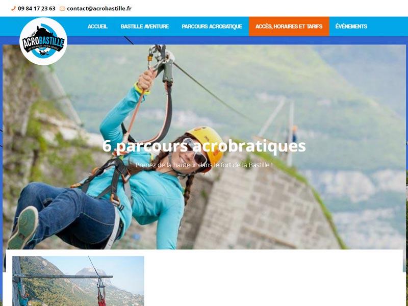 Acrobastille, parc aventure à Grenoble